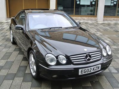 used Mercedes CL500 COUPE LOW MILEAGE.