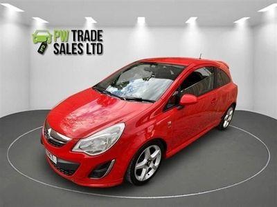 used Vauxhall Corsa 1.4 SRI 3d 98 BHP