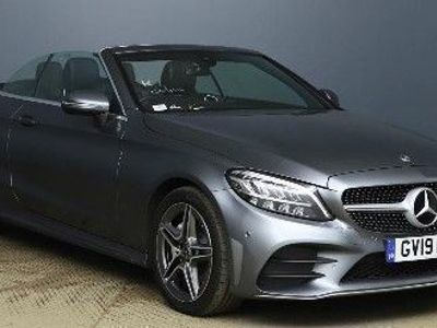 used Mercedes C220 C Class 2.0D AMG LINE 2d 192 BHP Convertible 2019