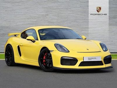 used Porsche Cayman COUPE 3.8 GT4 2dr