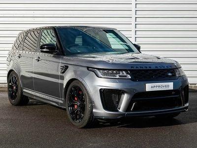 used Land Rover Range Rover Sport 5.0S V8 (575hp) SVR 5dr