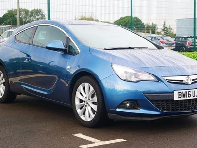 used Vauxhall Astra GTC 1.4T 16V 140 SRi 3dr Auto Blue Automatic Petrol