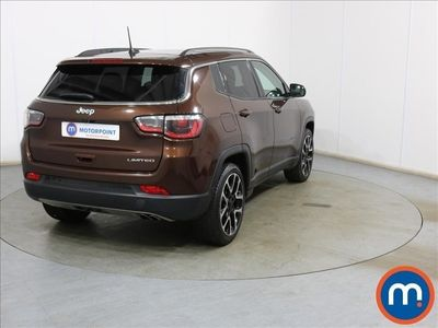 used Jeep Compass 1.6 Multijet 120 Limited 5dr [2WD] [Plus Pack]