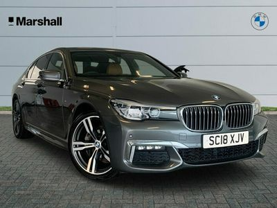 used BMW 730 7 Series d M Sport 4dr Auto Saloon 2018