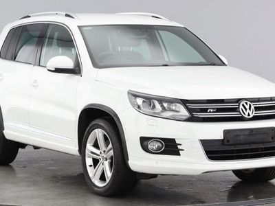 used VW Tiguan R LINE EDITION TDI BMT 4MOTION DSG 2.0 5dr