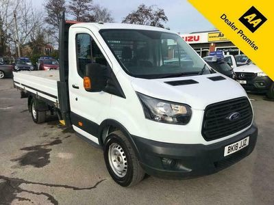 used Ford Transit 2.0 350 L5 130 BHP EXTRA LONG WHEELBASE SINGLE CAB ALLOY SIDED