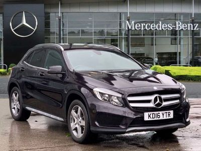 used Mercedes GLA220 GLA4Matic AMG Line 5dr Auto