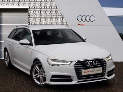 used Audi A6 Avant S line 2.0 TDI ultra 190 PS 6 speed