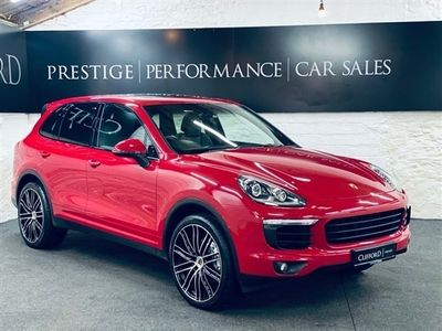 used Porsche Cayenne 3.0 D V6 TIPTRONIC S 5d 262 BHP PANORAMIC GLASS SUNROOF