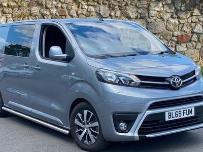 used Toyota Proace 2.0D (180hp)(Eu6dT-E) Design Medium CC