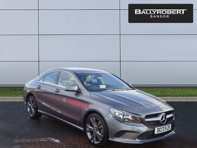 used Mercedes CLA180 CL Class ClaSport 4dr Saloon 2017