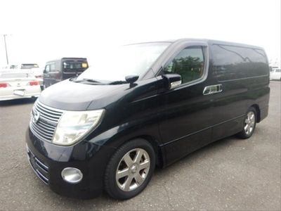 used Nissan Elgrand 2.5 Highway Star - Black Leather Edition - Twin Power Doors - High Grade