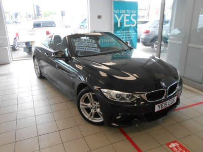 used BMW 428 4 Series 2015 4 Series i M Sport Leather Trim Sat Nav Convertible 2015