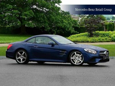 used Mercedes SL400 SL CLASSAMG Line 2dr 9G-Tronic convertible 2016