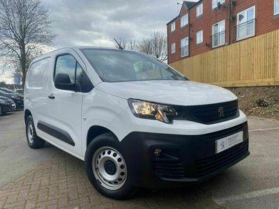 used Peugeot Partner 1000 1.5 BlueHDi 100 Grip Van