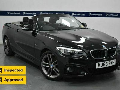 used BMW 218 2 Series 2.0 D M SPORT 2d 150 BHP