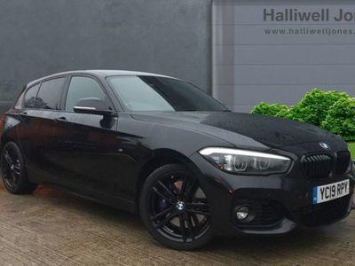 used BMW 118 1 SERIES 2019 Wilmslow i M Sport Shadow Edition 5-door