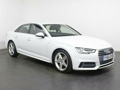 used Audi A4 2.0 TDI ULTRA S LINE 4d 188 BHP SAT NAV Bluetooth DAB Digital Radio Parking Sensors 18 inch Alloys
