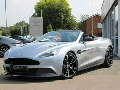 used Aston Martin Vanquish V12 2dr Volante Touchtronic 5.9