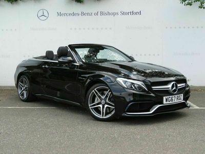used Mercedes C63 AMG C Class 4.0V8 BiTurbo AMG (Premium) Cabriolet 2dr Petrol SpdS MCT (s/s) (476 ps)