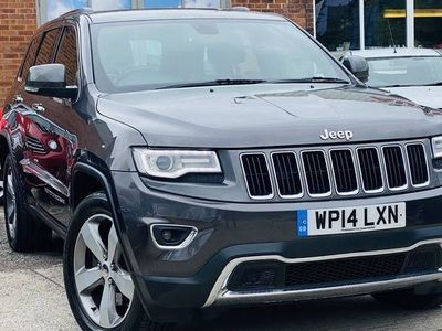 used Jeep Grand Cherokee 3.0 V6 CRD LIMITED 5d 247 BHP Reverse Camera/Xenon Lights/Isofix