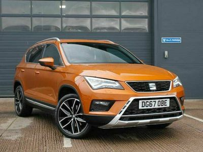 used Seat Ateca SUV 2.0 TDI (190ps) Xcellence 4Drive DSG 5Dr