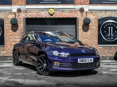 used VW Scirocco 1.4 GT BLACK EDITION TSI BMT 2d 123 BHP