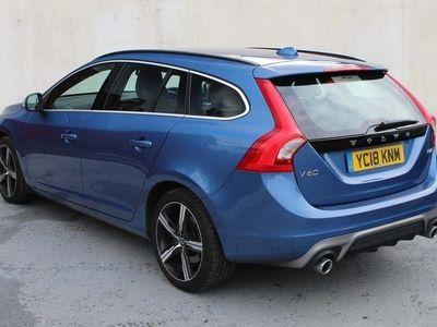 used Volvo V60 2.0 D4 R-Design Nav Auto (s/s) 5dr diesel sportswagon