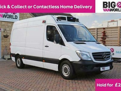 used Mercedes Sprinter 313 Cdi 129 Mwb High Roof Fridge/freezer Van With Overnight