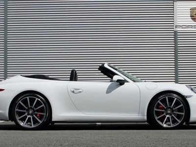 used Porsche 911 Carrera S Cabriolet 3.8 CARRERA S PDK 2d 400 BHP [ SPORTS EXHAUST ]
