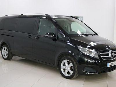 used Mercedes V250 V Class 2.2SE G-Tronic+ XLWB EU6 (s/s) 5dr 8 Seat XLWB