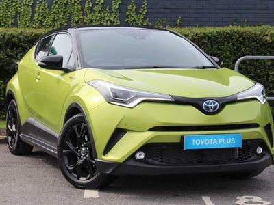 used Toyota C-HR C-HRHybrid 1.8 Petrol Hybrid (122 hp) Crossover Lime Edition Automatic Hatchback 2019