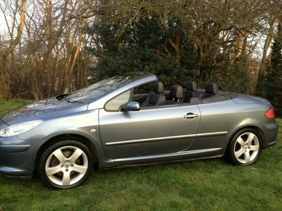 used Peugeot 307 CC 2.0HDi (136bhp) Sport Coupe Cabriolet 2d 1997