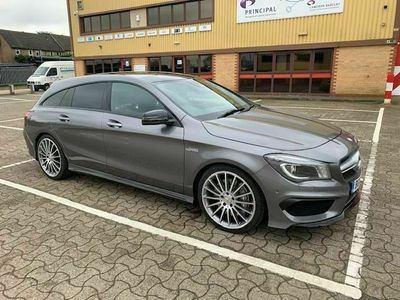 used Mercedes CLA45 AMG Shooting Brake Cla Class 2.0 AMG Speedshift DCT 4MATIC (s/s) 5dr