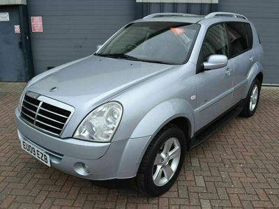 used Ssangyong Rexton 2.7 TD SPR T-Tronic 4x4 5dr