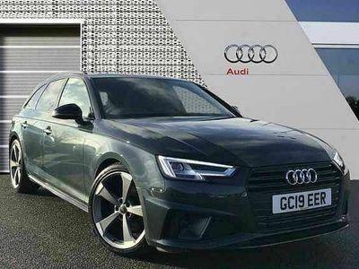 used Audi A4 Avant Black Edition 40 TFSI 190 PS S tronic