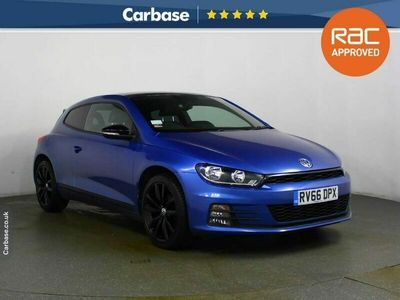 used VW Scirocco 2.0 TDi BlueMotion Tech GT Black Edition 3dr