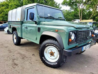 used Land Rover Defender 110 2.4 TDi Pick-Up 2dr (High capacity)