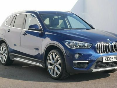 used BMW X1 xDrive 20d xLine 5dr Step Auto Blue Automatic Diesel