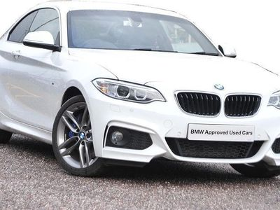 used BMW 220 2 Series D [190] M Sport 2Dr [Nav]