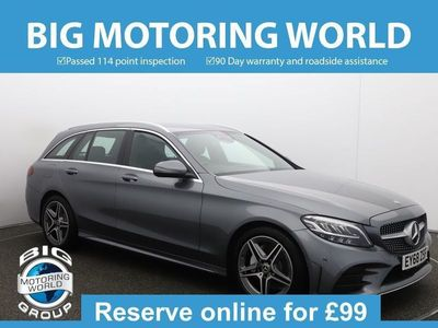 used Mercedes C220 C ClassD AMG LINE 2.0 5dr