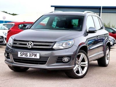 used VW Tiguan 2.0 TDi BlueMotion Tech R Line Edition 150 5dr