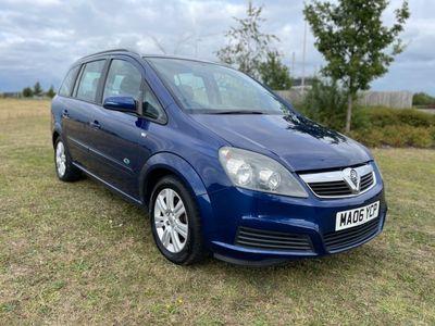 used Vauxhall Zafira ACTIVE 16V