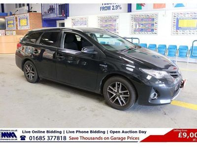 used Toyota Auris ICON + 1.8 VVT-I CVT AUTO HYBRID 5 DOOR ESTATE (GUIDE PRICE)