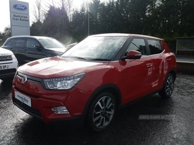 used Ssangyong Tivoli 1.6 TDI ELX IN RED WITH ONLY 35K + BIG SPEC, 2016 ( )