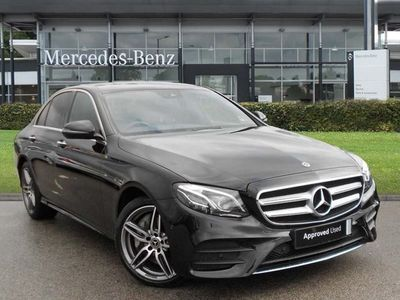 used Mercedes E400 E CLASS4Matic AMG Line Premium Plus 4dr 9G-Tronic Automatic diesel saloon