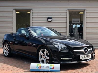 used Mercedes SLK200 BlueEFFICIENCY AMG Sport 2dr Tip Auto 1.8