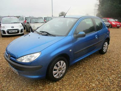used Peugeot 206 1.4 S 3dr Tip Auto [AC]