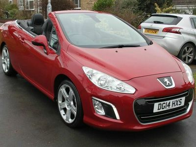 used Peugeot 308 CC 2.0 HDi Allure 2dr (Nav)