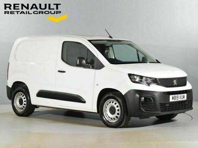 used Peugeot Partner 1.6 BlueHDi 1000 Grip Standard Panel Van 5dr Diesel Manual SWB EU6 (s/s) (, 2019, Van, 21776 miles.